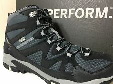 MERRELL J276126C Tahr Mid Waterproof Men Shoes Size 8.5 M Black/Wild Dove $115