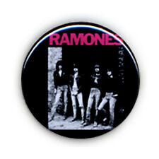 Badge RAMONES groupe Punk rock culte années 80 cbgb pop vintage retro pins Ø25mm