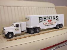 SMITH MILLER Bekins Van Lines Tractor Trailer Toy Pressed Steel Truck
