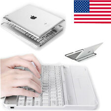 Aluminum Bluetooth Wireless Keyboard Case Stand Dock for New iPad 2 3rd 4th USA