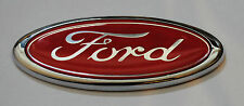 New Red Ford Oval Badge Ford Emblem RETRO 115mmx45mm ESCORT SIERRA CAPRI FIEST