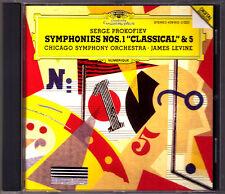 James LEVINE: PROKOFIEV Symphony No.1 Classical No.5 DG CD Chicago Sym Orchestra
