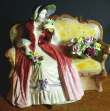 "RADNOR BONE CHINA FIGURINE VERY RARE LADY ANNE 6 1/2"" TALL SEATED  MINT"