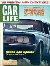 Car Life Magazine September 1964 Mustang Stock Car Racing EX NO ML 121215jhe
