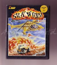 Silkworm (Virgin 1989) Amstrad Disk Game - Large Clamshell VGC Complete CPC Disc
