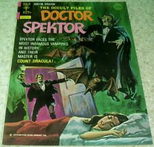 Occult Files of Doctor Spektor 8, NM- (9.2) 1974 Dracula! 30% off Guide!