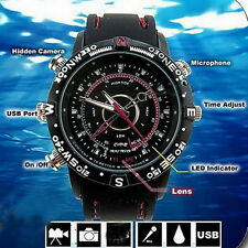 8GB Camcorder Waterproof Watch Camera DVR Video Recorder Cam 1280*960 Photo JL