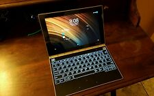 Lenovo Yoga Book Tablet  Champagne Gold, Keyboard, Pen, 64GB - Perfect Condition
