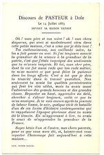 CPA Personnage célèbre 39 Jura Dole Pasteur Discours de Pasteur