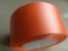 """Satin Ribbon 50mm 2"""" inch Choose many Colors Buy 4 Get 10 Yards Free any colour"""
