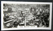 The Motor Show  Olympia  London   Vintage Photo Card #  VGC