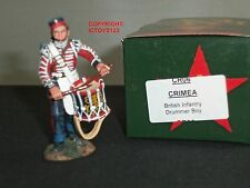 KING AND COUNTRY CR06 CRIMEA BRITISH INFANTRY DRUMMER BOY METAL TOY SOLDIER
