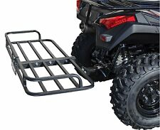 ATV CARGO RACK QUAD 4 WHEELER CARRIER REAR HITCH MOUNT RECEIVER BALL UTV MUV 2""
