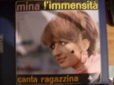 45 Giri Mina L'Immensità Canta Ragazzina 1967