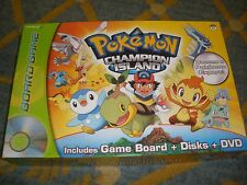 POKEMON CHAMPION ISLAND BOARD GAME WITH DVD SNAP TV GAMES 100% COMPLETE
