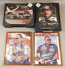 Framed Pictures of Various NASCAR Drivers Lot Lot 612