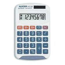 Aurora HC-133 Twin-power Pocket Calculator