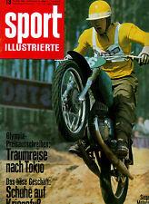 Sport Illustrierte 13/1964 Fussball Motorsport Ralph Bosten Leichtathletik