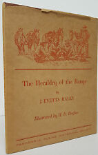 J Evetts Haley - The Heraldry of the Range - SIGNED FIRST EDITION 1949 - Hertzog