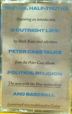 PETER CASE Plimsouls 1989 promo-only HALF TRUTHS & LIES INTERVIEW CASSETTE TAPE.