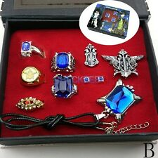 Black Butler Ring Necklace Earrings Anime accessories