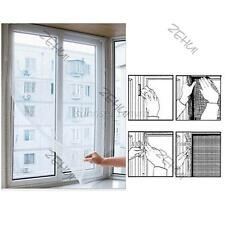 White Door & Window Fly Bug Mosquito Mesh Screen Flyscreen Wire Net Curtain