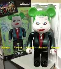 Medicom 2016 Be@rbrick DC Comics Batman 1000% Joker Suicide Squad Bearbrick 1pc
