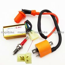 CDI Spark Plug Racing Engine Ignition Coil Dirt Bike ATV Quad 150cc 200cc 250cc
