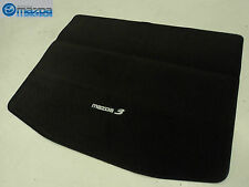 MAZDA 3 HATCHBACK 2004-2009 NEW OEM REAR CARPETED CARGO MAT