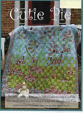 Cutie Pie Quilt Pattern Pieced/Fussy Cut Applique/Free Form Applique GI