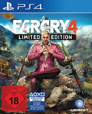Far Cry 4 - Limited Edition (Sony PlayStation 4) OVP UNCUT Kpl. DEUTSCH