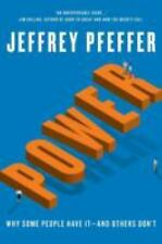 POWER Jeffrey Pfeffer BRAND NEW HC BOOK Discounted (DJ wrinkle) Ebay best price