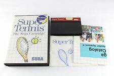 Sega Master System Game Super Tennis Boxed Complete PAL