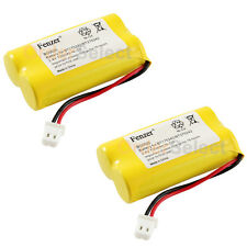 2 Cordless Home Phone Battery Pack for Sanyo GESPC07 PCF07 Lenmar CBB350 STB-950