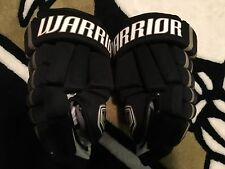 "Pittsburgh Penguins WARRIOR Franchise Pro Stock 14"" Black Gold NEW hockey Gloves"