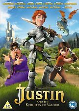 Justin And The Knights Of Valour (DVD, 2014) Brand new and sealed