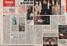 Coupure de presse Clipping 1989 Une Nuit au Paradis Latin (2 pages)