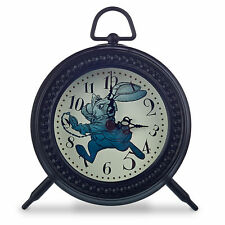 Disney Store White Rabbit Alice in Wonderland Through Looking Glass Desk Clock
