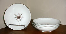 Vintage 4 Celebrity Fine China NOCTURNE ROSE 5360TC-2 Sauce Berry BOWLS