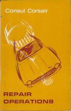Ford Consul Corsair 1500 original Repair Operations Manual 1963-65