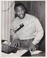 Joe Frazier (1944-2011) Signed Vintage 8x10 Photo AFTAL/UACC RD