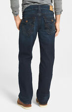 NWT TRUE RELIGION Men Billy Flap Relaxed Bootcut Jeans Size 31 Midnight Pass NEW