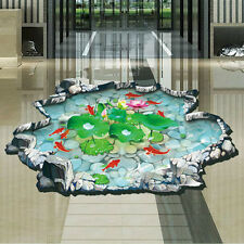 Hot 3D Living Room Floor-coverings Stickers Removable Waterproof Stickers #2