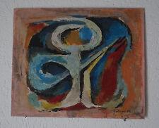 L. ZEILINGER (1897/1990) HSP - COMPOSICIÓN ABSTRACTA 1969 - Firmado