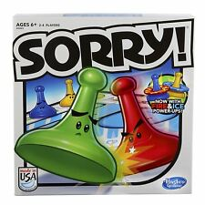 Hasbo Sorry Edition Game Board Toys Funy Games for Kids Family Adult Old NEW