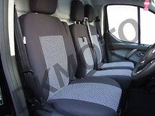 Seat covers for Ford Transit Custom 2 + 1 with drop down table - pattern2