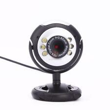 12 Mega USB 6 LED PC Webcam Camera + MIC FOR Laptop MSN High Quality CA