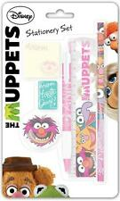 Disney The Muppets Large Stationery Set Pen Pencil Ruler Rubber Sharpener Pad