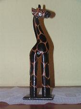 Giraffa,Figura in legno,Figurina di giraffa,Bali,Africa,Scultura,Fatto mano,