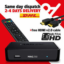 MAG 250 STB Multimedia player Internet Linux TV Box IPTV Original USB HDMI HDTV